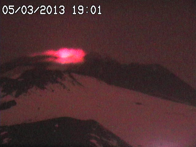Strombolian activity in Etna's Voragine crater