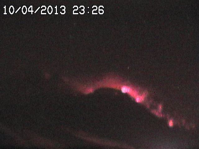 Strong strombolian activity from the New SE crater