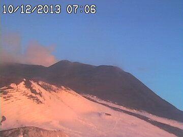 Etna's NSEC this morning (Radiostudio7 Montagnola webcam)