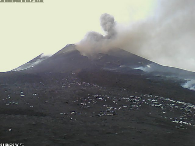 Etna's New SE crater