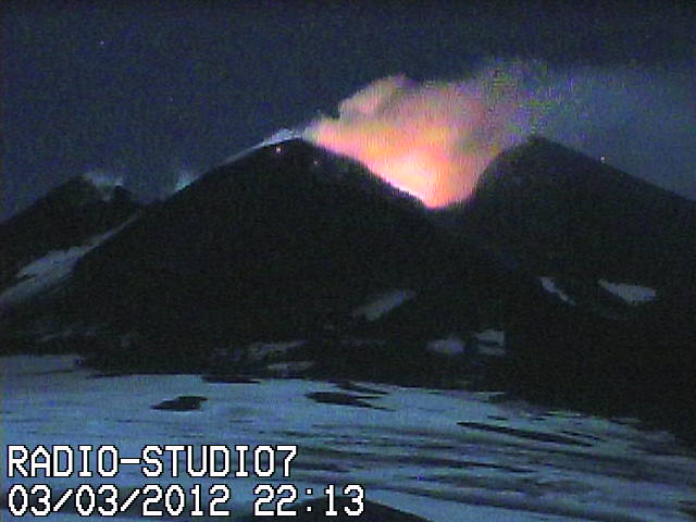 Strombolian activity at the NSEC at 22h16