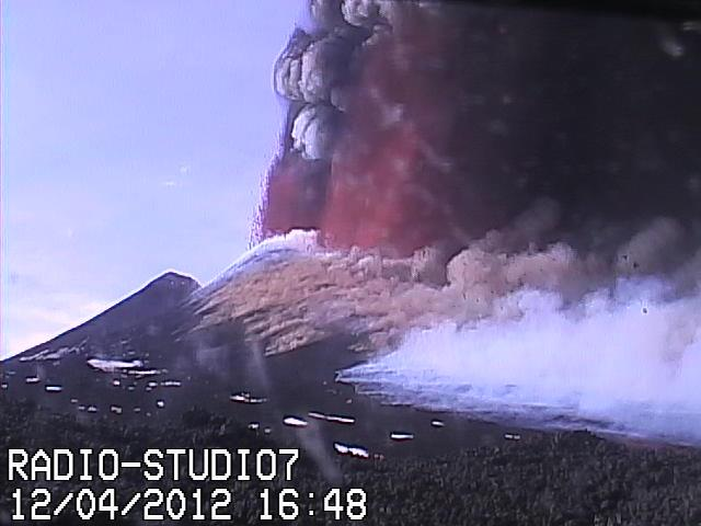 Lava fountains from NSEC