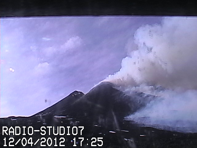 Last ash emissions from the NSEC