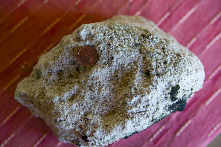 Sandstone xenolith from the 16 Mar paroxysm