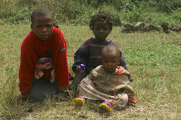 Children from Kibati