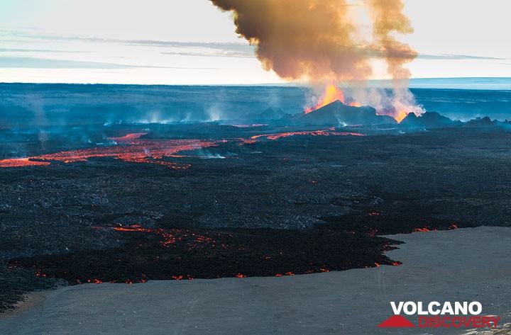 The lava flow field at Holurhaun on 13 Sep