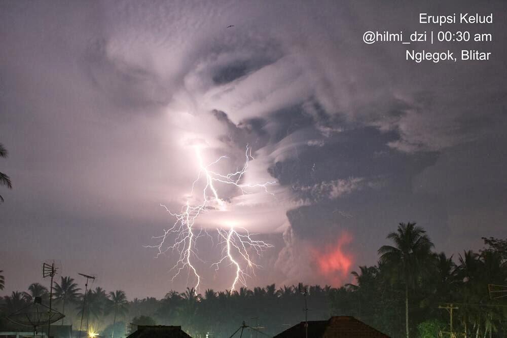 The 13 Feb 2014 eruption of Kelut volcano
