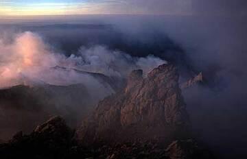 Merapi's lava dome