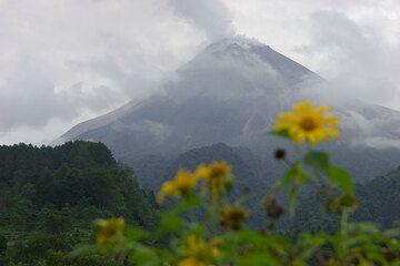Merapi in volcano
