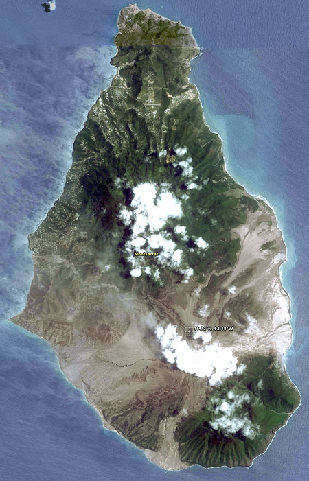 Montserrat Island by (c) Google Earth View