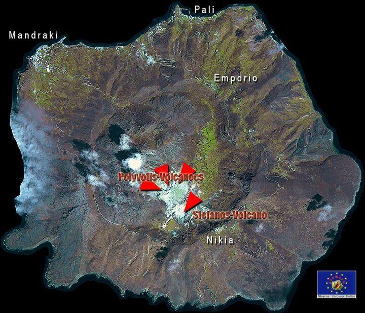 Nisyros Vulkan