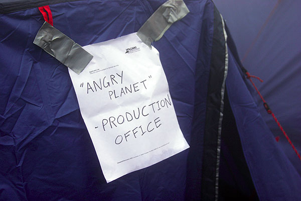 """""""Angry Planet"""" production office - watch out for the upcoming documentary """"Angry Planet""""!"""