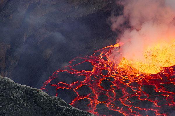 The lava lake