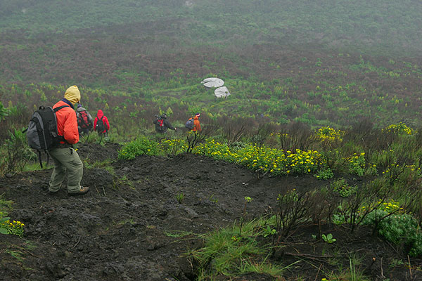 Descend from Nyiragongo