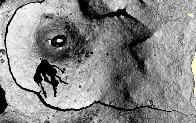 Lava flow field of Piton de la Fournaise's eruption as on 28 Sep 2015(OVPF)