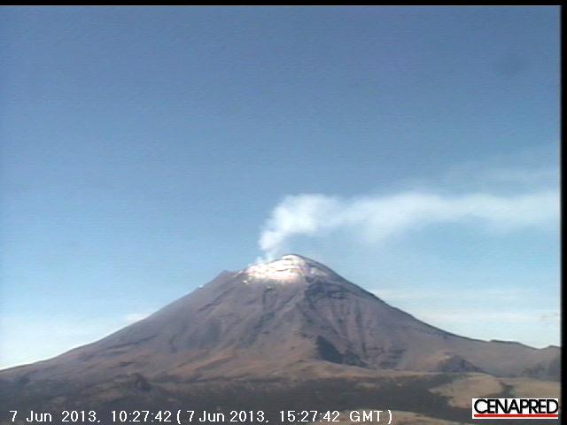 Huidige webcam bekijken van Popocatepetl