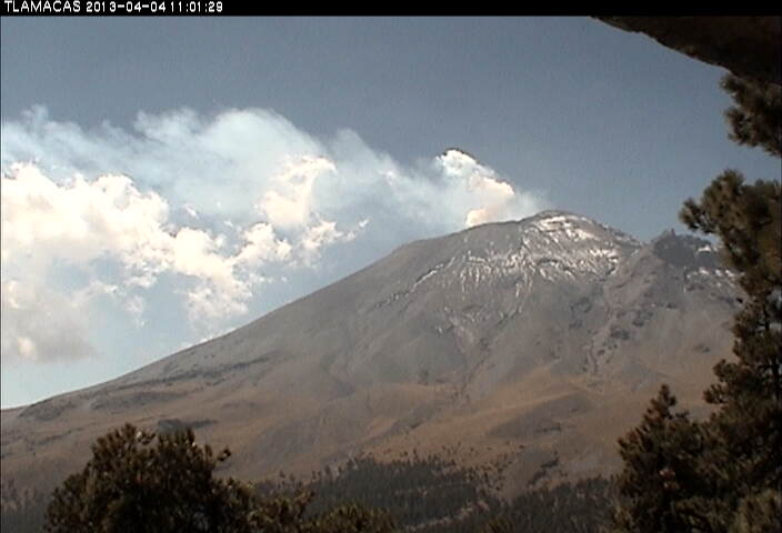 Popocatépetl today