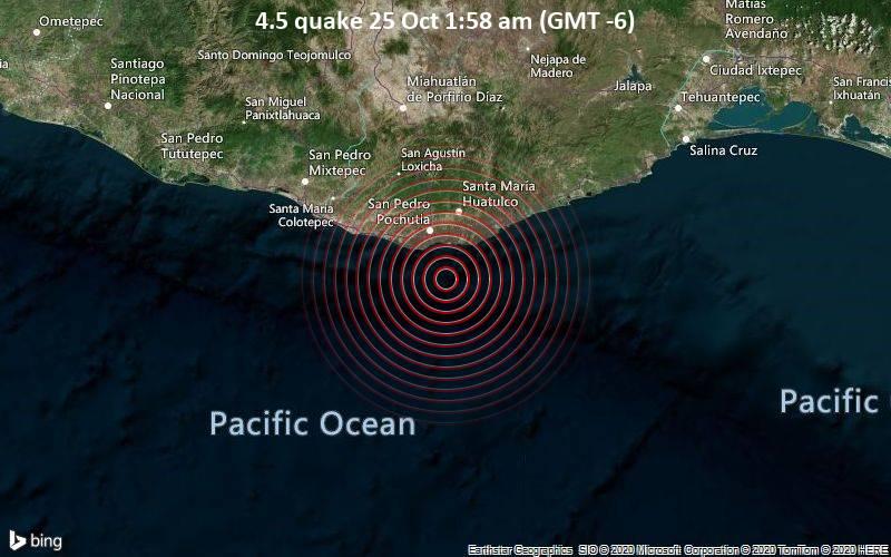 4.5 quake 25 Oct 1:58 am (GMT -6)