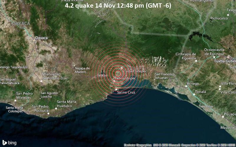 4.2 quake 14 Nov 12:48 pm (GMT -6)