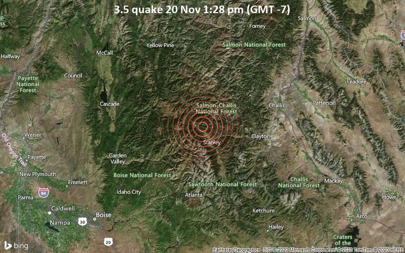 3.5 quake 20 Nov 1:28 pm (GMT -7)