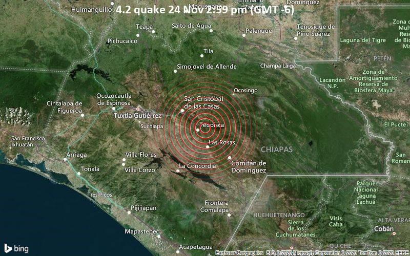 4.2 quake 24 Nov 2:59 pm (GMT -6)