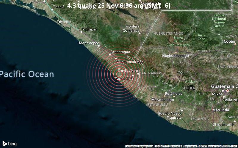 4.3 quake 25 Nov 6:36 am (GMT -6)
