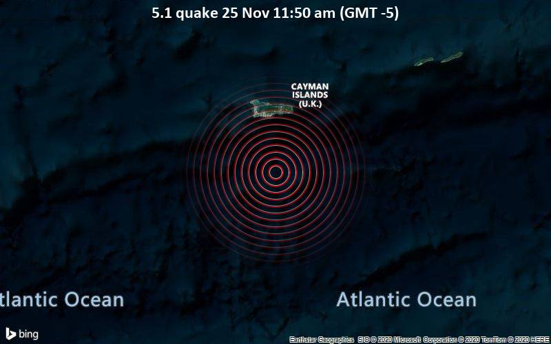 5.1 quake 25 Nov 11:50 am (GMT -5)