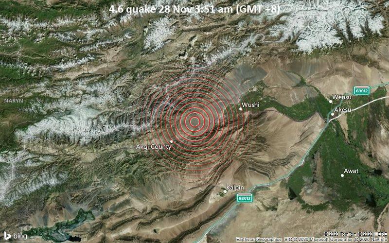 4.6 quake 28 Nov 3:51 am (GMT +8)