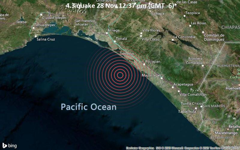 4.3 quake 28 Nov 12:37 pm (GMT -6)