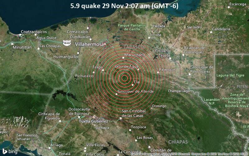 5.9 quake 29 Nov 2:07 am (GMT -6)