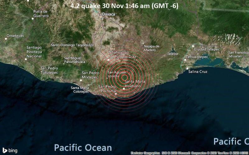 4.2 quake 30 Nov 1:46 am (GMT -6)