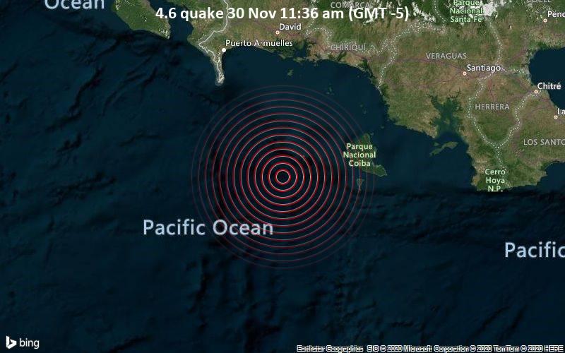 4.6 quake 30 Nov 11:36 am (GMT -5)