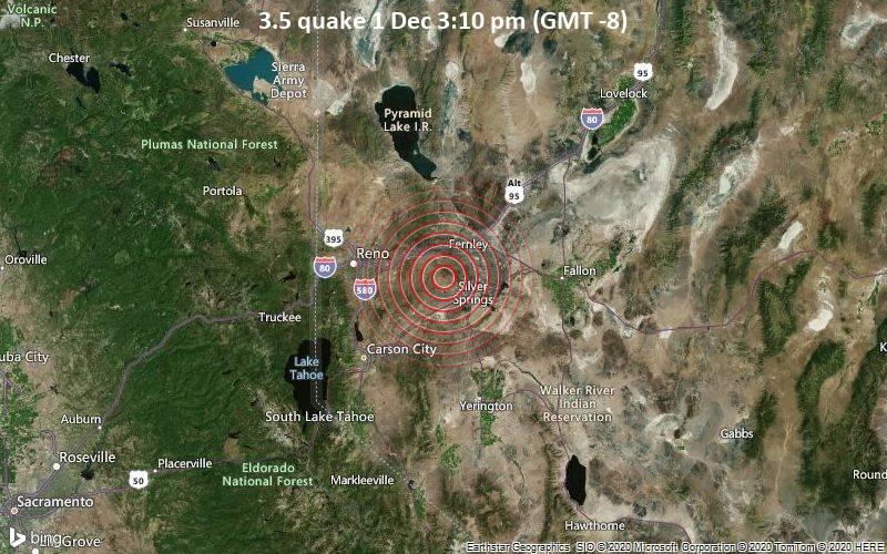 3.5 quake 1 Dec 3:10 pm (GMT -8)