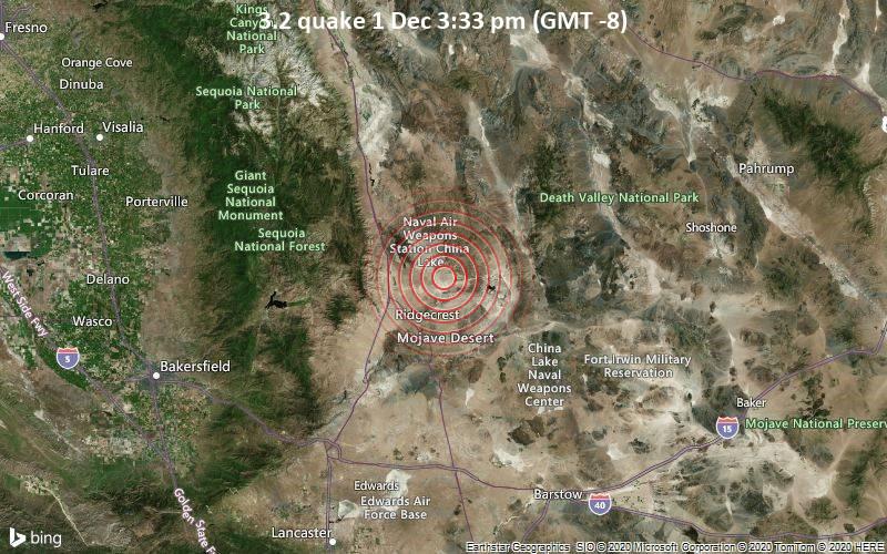 3.2 quake 1 Dec 3:33 pm (GMT -8)