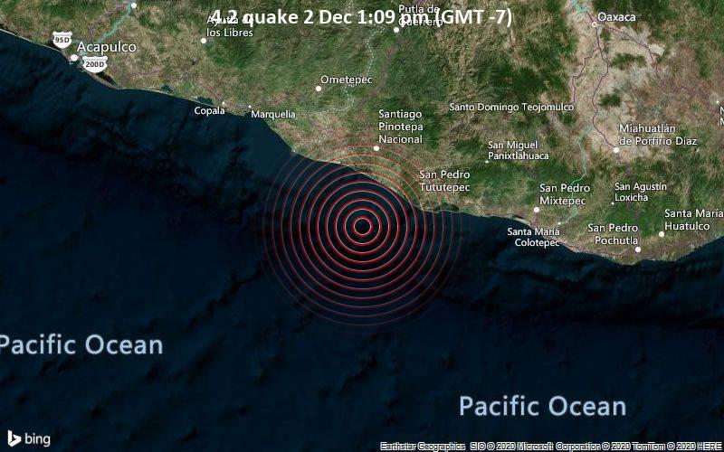 4.2 quake 2 Dec 1:09 pm (GMT -7)