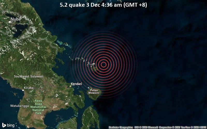 5.2 quake 3 Dec 4:36 am (GMT +8)
