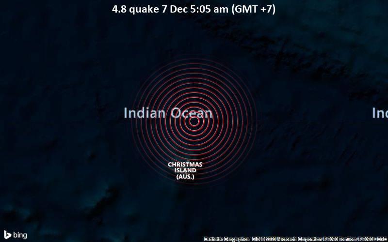 4.8 quake 7 Dec 5:05 am (GMT +7)