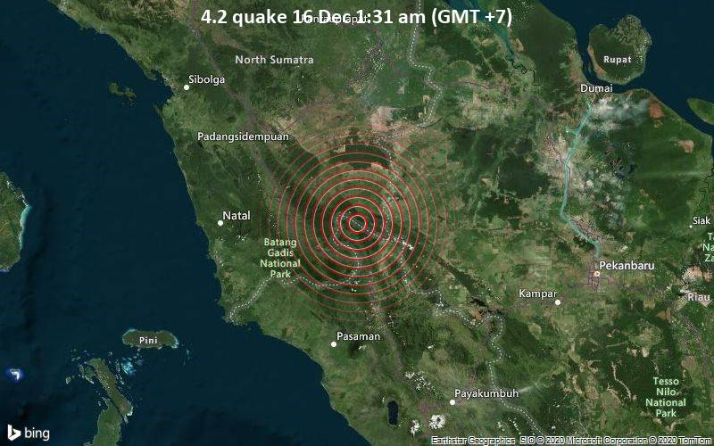 4.2 quake 16 Dec 1:31 am (GMT +7)
