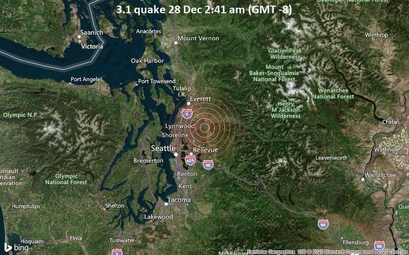3.1 quake 28 Dec 2:41 am (GMT -8)