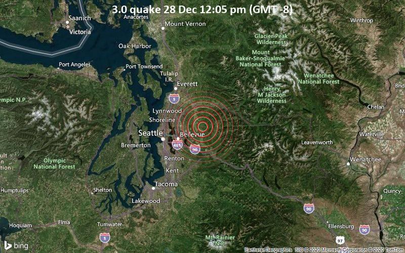 3.0 quake 28 Dec 12:05 pm (GMT -8)