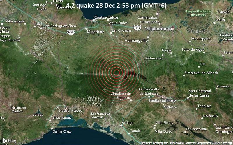 4.2 quake 28 Dec 2:53 pm (GMT -6)