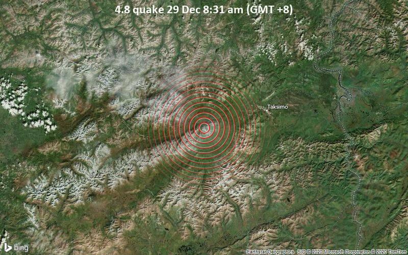 4.8 quake 29 Dec 8:31 am (GMT +8)