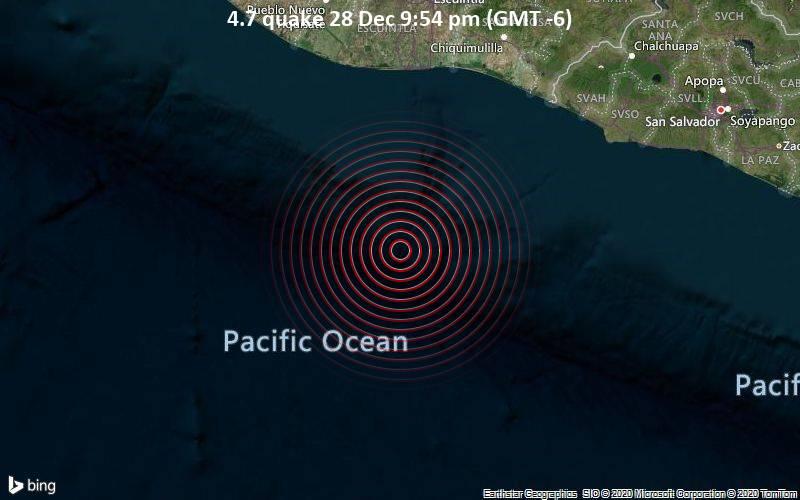 4.7 quake 28 Dec 9:54 pm (GMT -6)