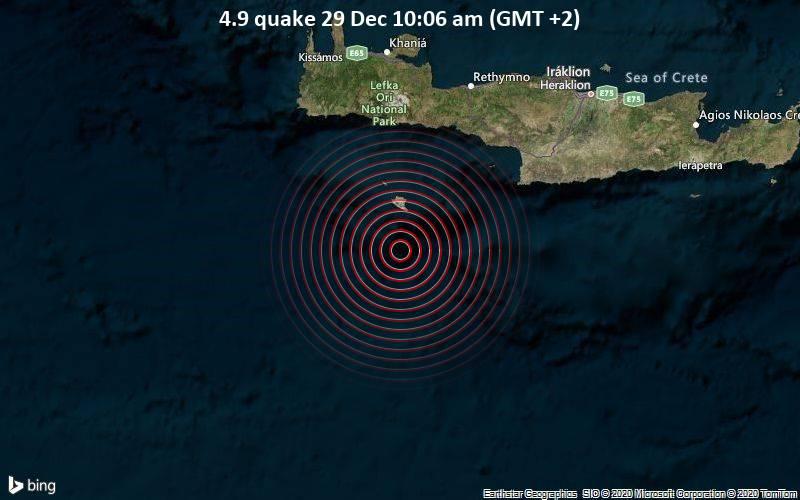 4.9 quake 29 Dec 10:06 am (GMT +2)