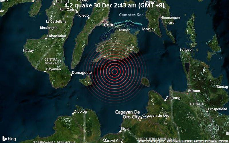 4.2 quake 30 Dec 2:43 am (GMT +8)