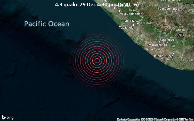 4.3 quake 29 Dec 4:30 pm (GMT -6)