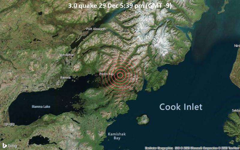 3.0 quake 29 Dec 5:39 pm (GMT -9)