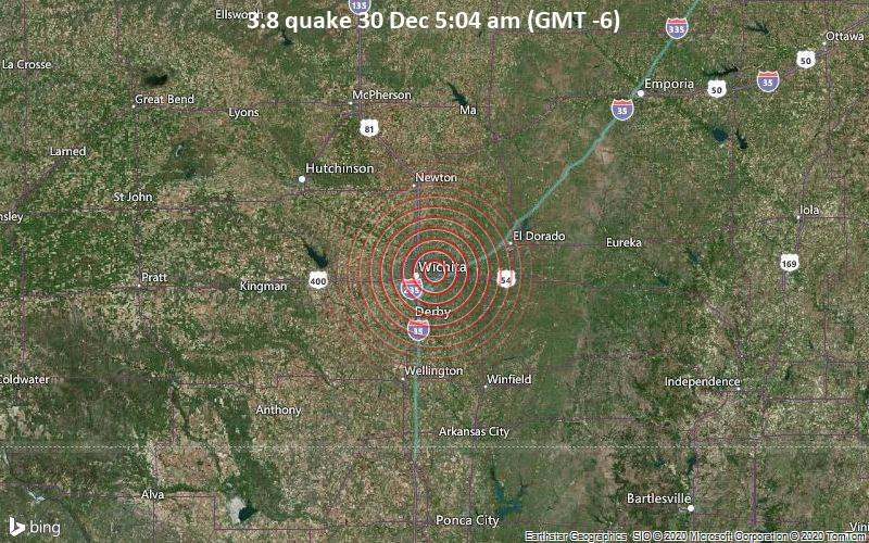 3.8 quake 30 Dec 5:04 am (GMT -6)