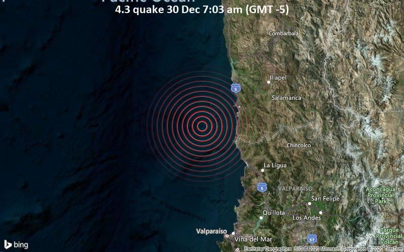 4.3 quake 30 Dec 7:03 am (GMT -5)