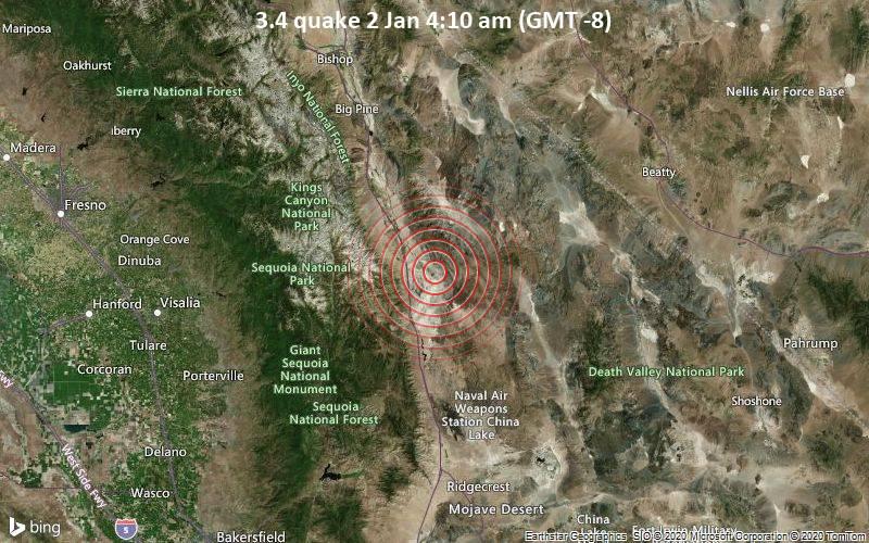 3.4 quake 2 Jan 4:10 am (GMT -8)